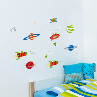 Exploring Space Wall Decal Wall Decal