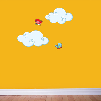 Clouds Wall Decal Wall Decal