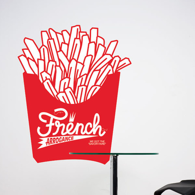 French Fries Wall Decal Wall Decal