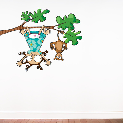 Lou & Kiki Wall Decal Wall Decal