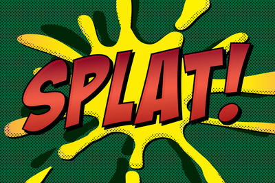 Splat! Comic Pop-Art Prints