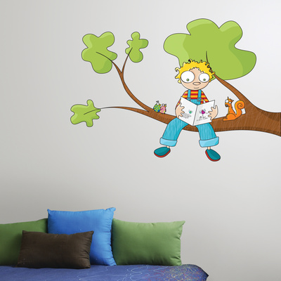 Ludo Tells a Story Wall Decal Wall Decal