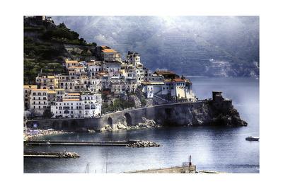 Amalfi Nostalgia Photographic Print by George Oze