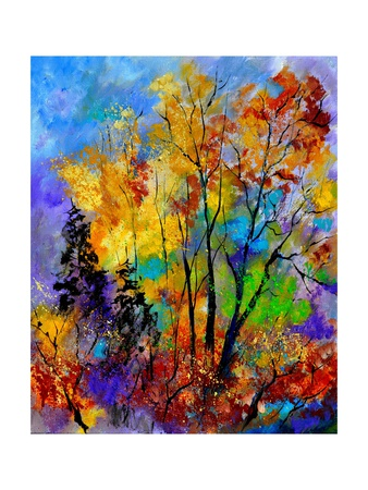 In The Wood 563180 Giclee Print by  Ledent