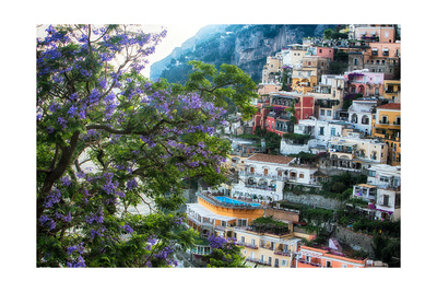 Positano Summer View Photographic Print by George Oze