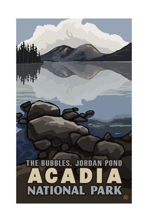 The Bubbles in Acadia National Park Pal 1647 Kunstdrucke von Paul A Lanquist