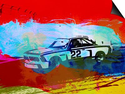 Bmw 3.0 Csl Racing Prints by  NaxArt