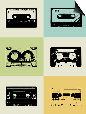 Mix Tape Poster Art by  NaxArt