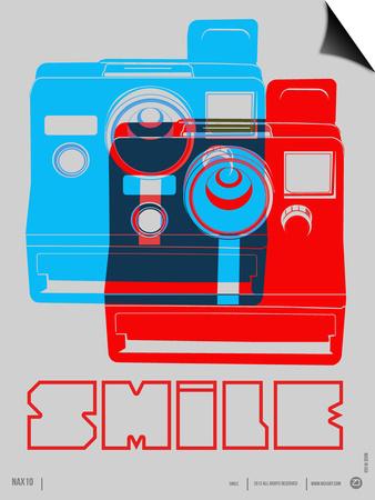 Smile Polaroid Poster Prints by  NaxArt