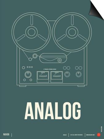 Analog Poster Prints by  NaxArt