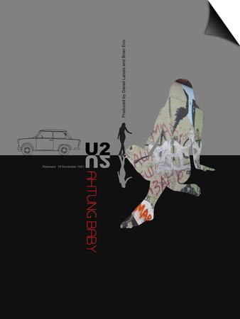 U2  Poster Print by  NaxArt