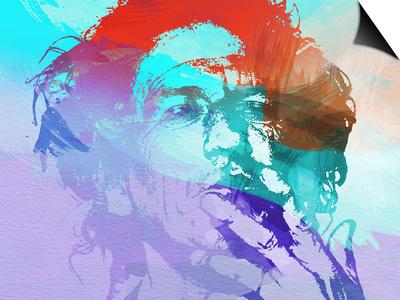 Keith Richards Print by  NaxArt