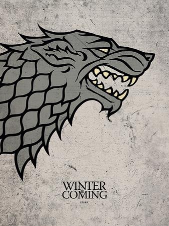Game of Thrones - Stark Print
