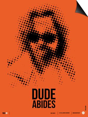 Dude Big Lebowski Poster Art by  NaxArt