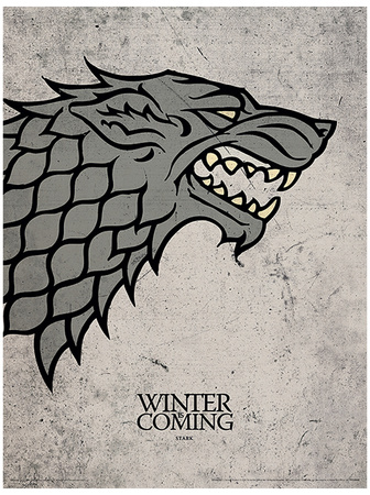 Game of Thrones - Stark Masterprint