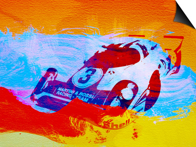 Porsche 917 Martini and Rossi Prints by  NaxArt