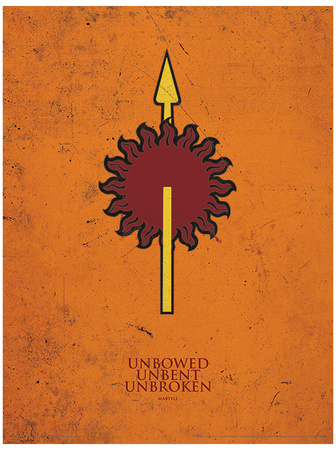 Game of Thrones - Martell Masterprint