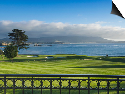 Pebble Beach Golf Club, Carmel, California, USA Prints by Rob Tilley