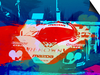 Mazda Le Mans Prints by  NaxArt