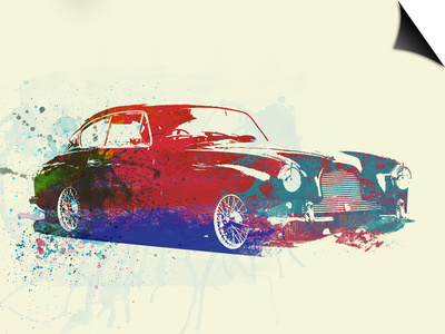 Aston Martin Db 2 Prints by  NaxArt