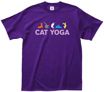 Cat Yoga Shirts