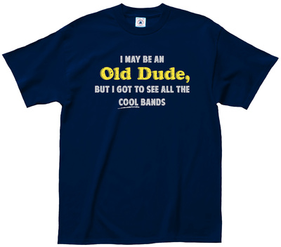 Old Dude T-shirts