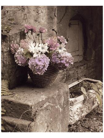 Tender Lavender Country Bouquet Posters van Richard Sutton