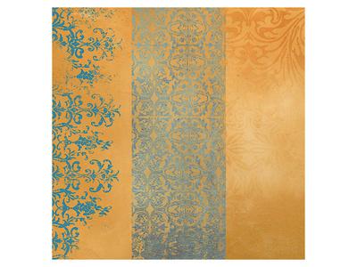 Powder Blue Lace IV Prints by Rachel Travis