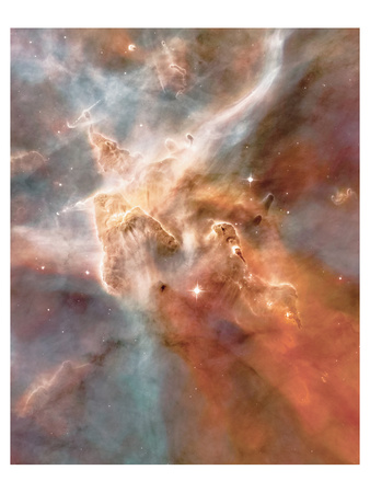 NASA - Stars Forming - Carina Nebula Print!