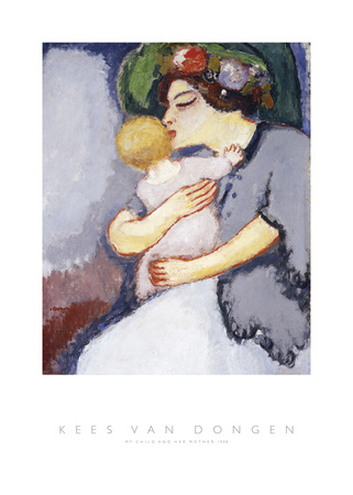 My Child and Her Mother, 1908 Prints by Kees van Dongen