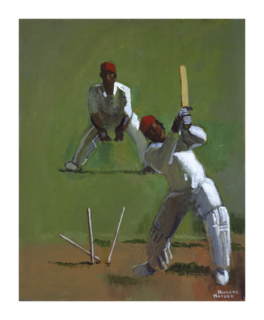 Cricket Premium Giclee Print by Boscoe Holder