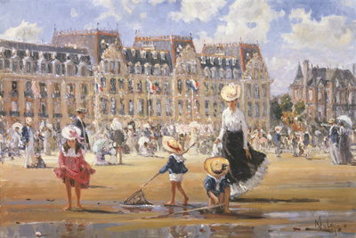 Grand Hotel Giclee Print by Alan Maley