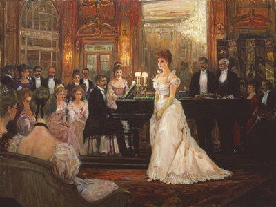 The Recital Giclee Print by Alan Maley