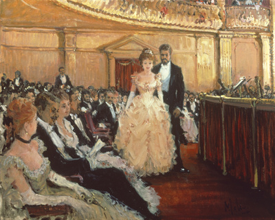 Front Row Centre Giclee Print by Alan Maley