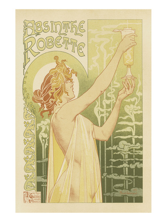 Absinthe Robette Posters by Privat Livemont