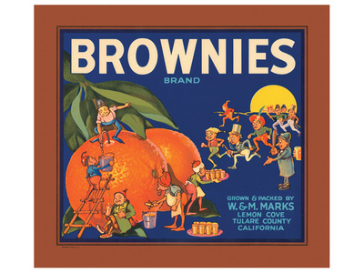 Brownies Brand Citrus Prints