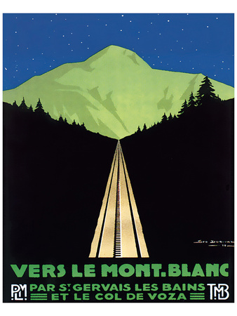 Vers Le Mont Blanc Posters av Georges Dorival