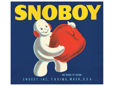 Snoboy Apples Print