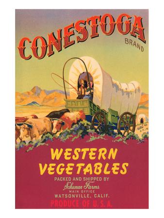 Conestoga Brand Western Vegetables Print