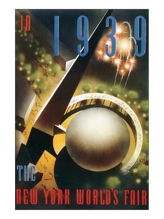 The New York World's Fair, c.1939 Pósters por Nembhard Culin