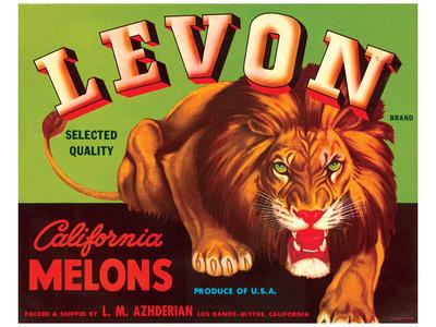 Levon Brand California Melons Art