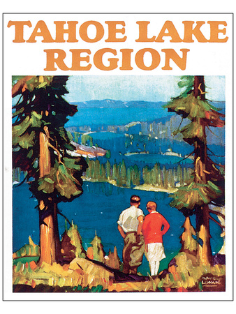 Tahoe Lake Region Prints