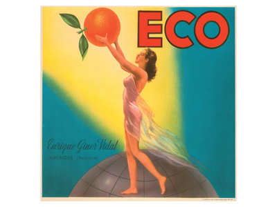 ECO Enrique Giner Vidal Oranges Prints