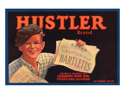 Hustler Brand California Bartletts Prints
