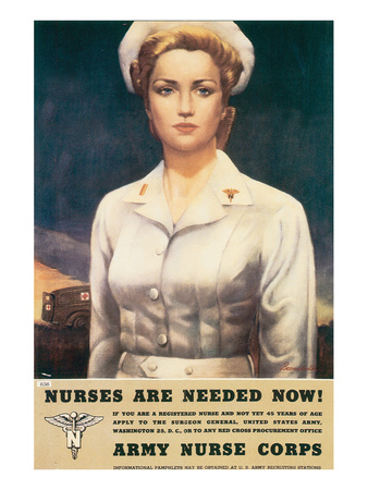 Nurses Are Needed Now! 1945 Posters