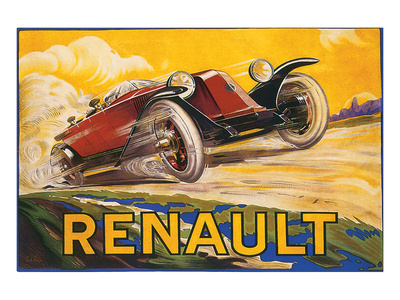Renault Prints by De Bay
