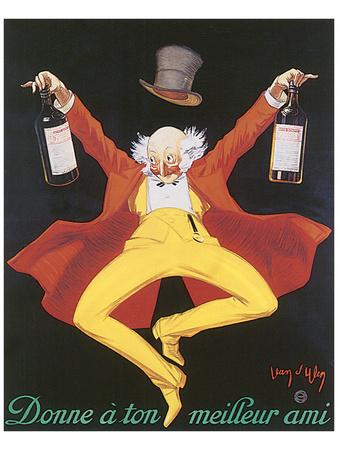 Liquor, Donne A Ton Meilleur Ami Posters by Jean D' Ylen