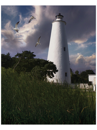 Ocracoke Light II Posters by Steve Hunziker