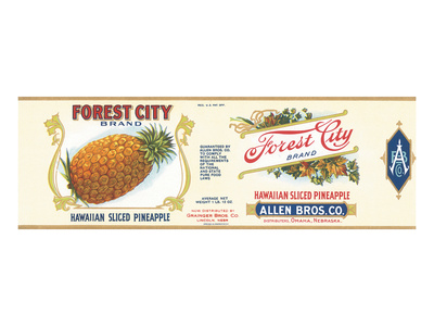 Forest City Pineapple Posters