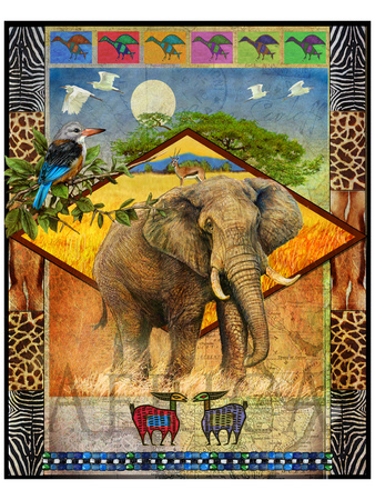 Elephant Prints by Chris Vest